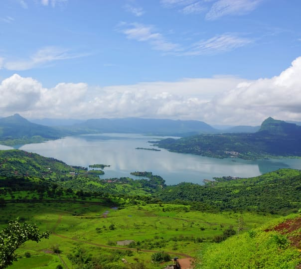 Camping in the Lohagad Valley