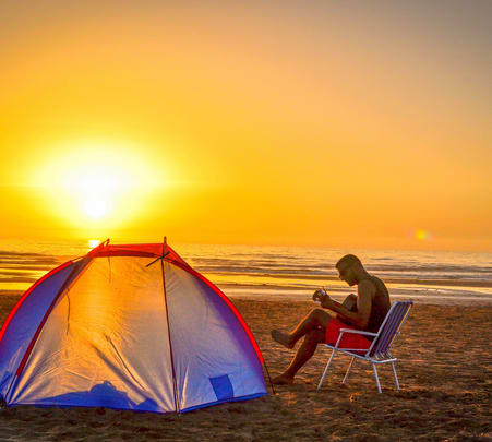 Beach Camping in South Goa from Bangalore