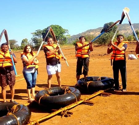 Adventure Day Out at Empower Camp, Kolad