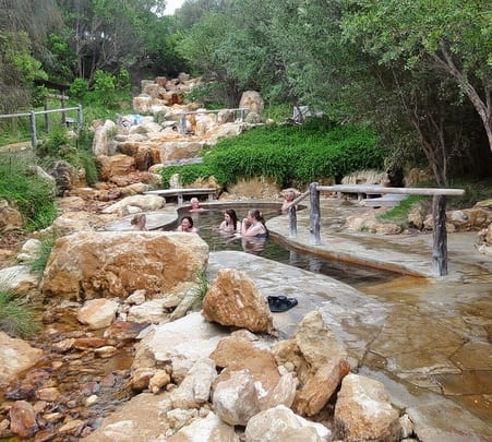 Hot Springs and Spa Shuttle Tour in Melbourne