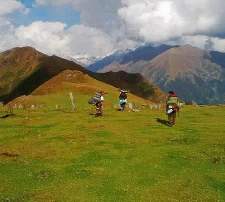 Adventurous Trek from Rashol Pass to Kasol