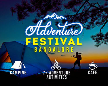 Nandi Hills Adventure Camp, Bangalore