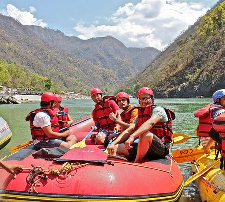 Corporate Team Outing at Shivpuri in Rishikesh