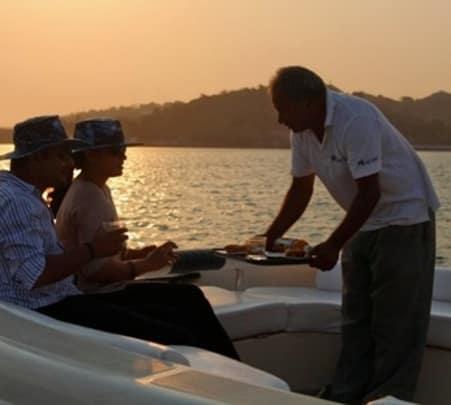 Yacht Cruise at Mandovi River in Goa