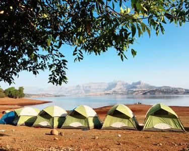 Camping Beside The Bhandardara Lake - Flat 10% Off
