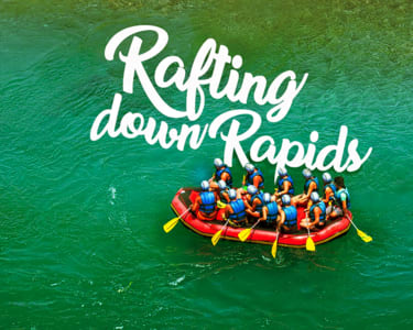 Coorg River Rafting Experience Flat 20% off