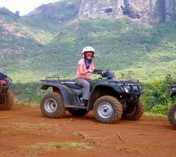 ATV Ride near Kundalika River