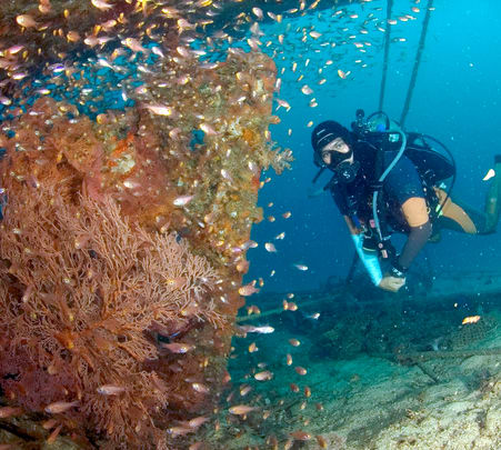 PADI OPEN WATER & ADVANCED OPENWATER(6D-5N)