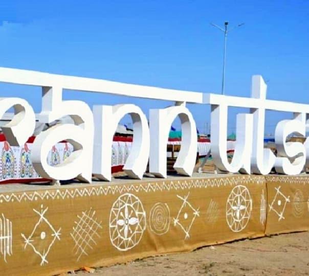 Camping at White Rann of Kutch in Gujarat