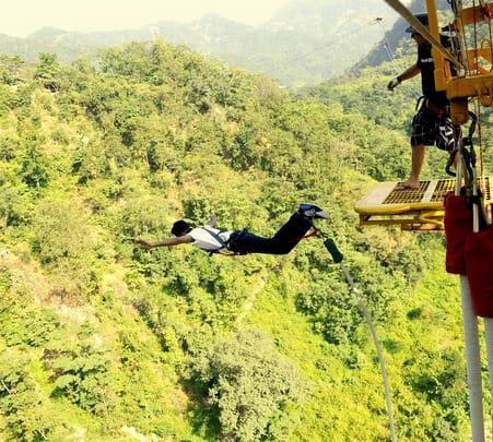 Combo Package For Adventure Activities in Rishikesh (bungee/zip Line/giantswing)