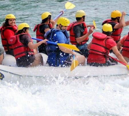Rafting Course with 5 Activities Combo in Rishikesh