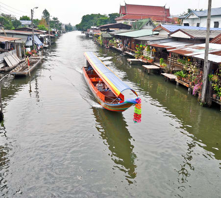 Sightseeing Trip to Klong Canal in Bangkok