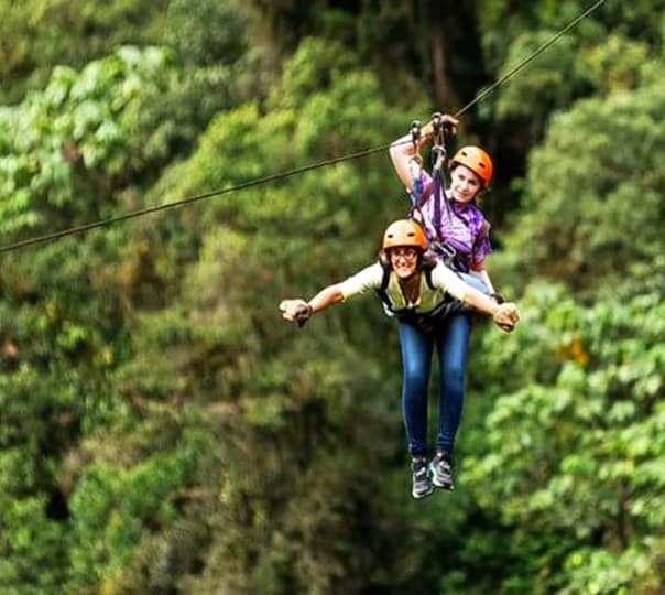 Flying Fox Experience In Munnar
