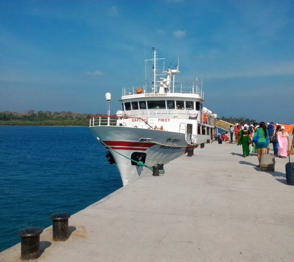Andaman Tour Package by Ship