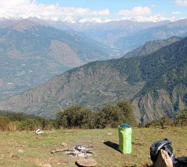 Five Days All Girls Trek to Parvati Valley