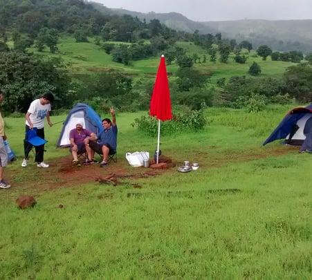 Camping in Velhe near Pune