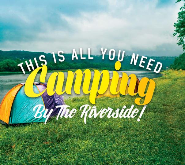 Riverside Camping in Kasol