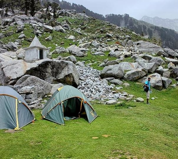 Triund Trek in Kangra Valley, Himachal Pradesh