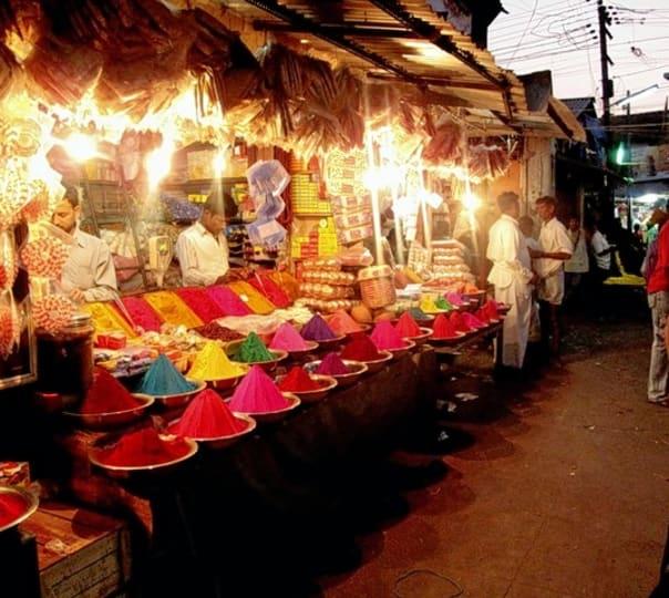 Mysore Market Walk