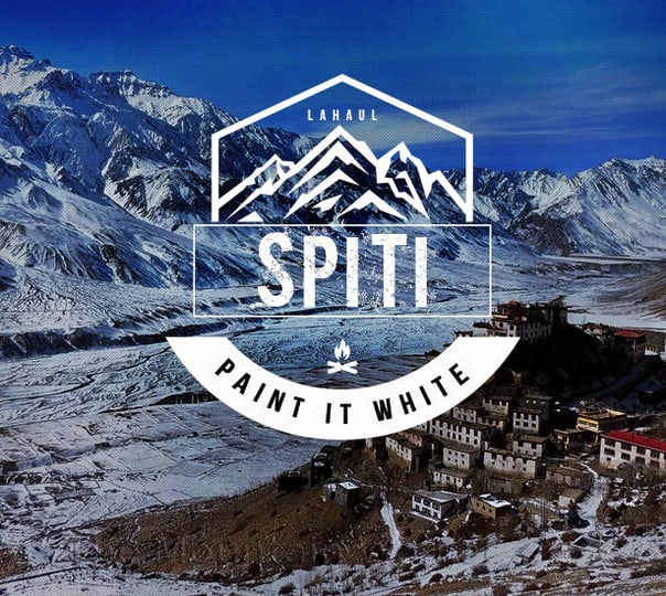 Spiti Winter Special: Paint It White