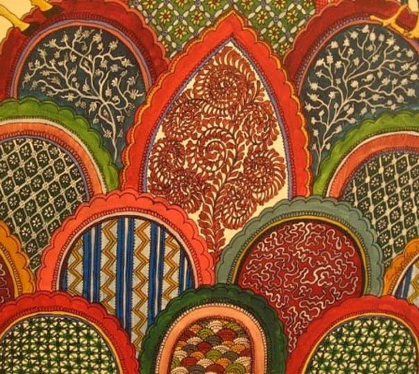 Kalam Kari Painting in Goa
