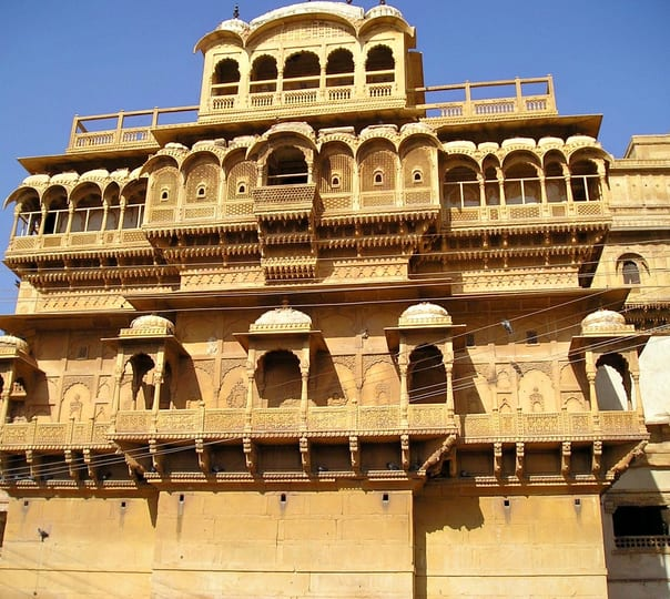Dune Bashing and Village Safari at Jaisalmer