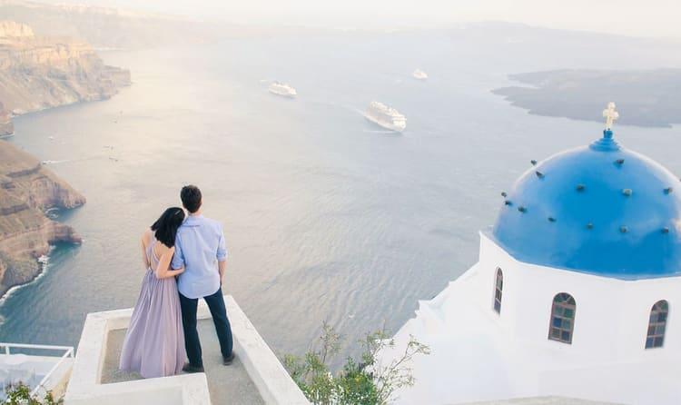 Image result for santorini honeymoon