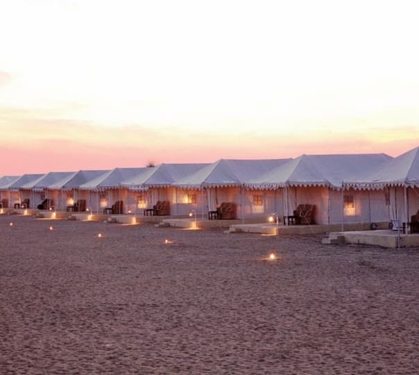 Camping at Wind Desert in Jaisalmer