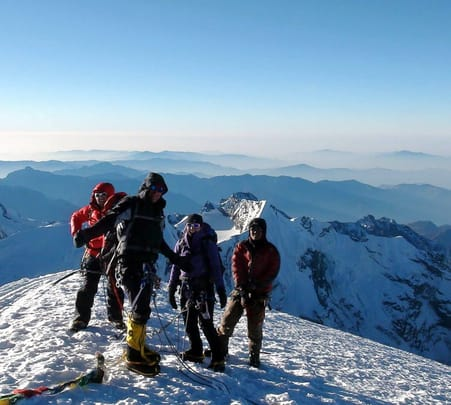 Trekking Expedition at Mera Peak in Nepal