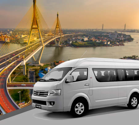 Shared City Transfers between Pattaya and Bangkok - Flat 25% off