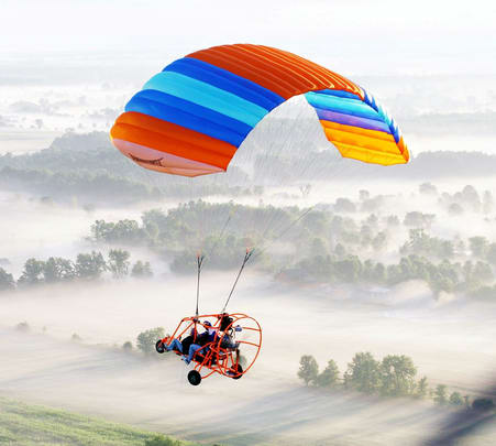 Powered Paragliding in Rishikesh