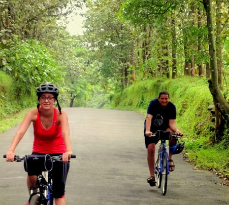 Cycling through Spice Plantations of Kerala
