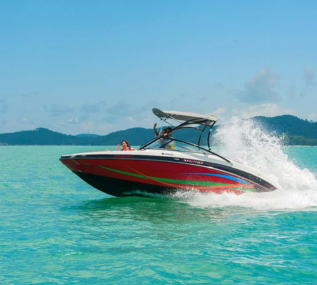 Fishing Trip on a Private Jet Boat in Langkawi