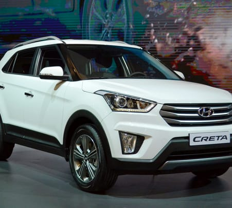 Rent a Hyundai Creta in Goa