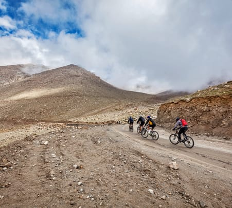 Downhill Cycling in Leh Flat 20% off