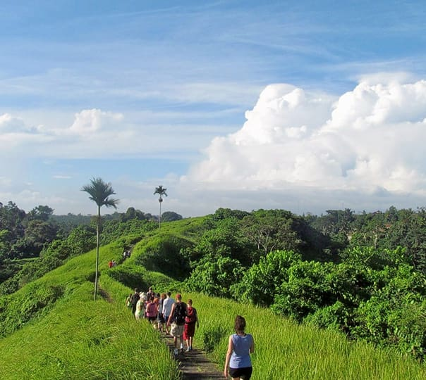 Trekking in Tampaksiring at Bali