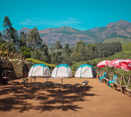 Munnar Camping with Adventure Activities
