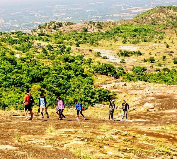 Trek to Chennagiri near Nandi Hills