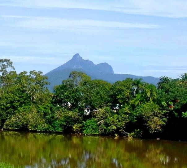 Trek to Mount Warning near Byron Bay