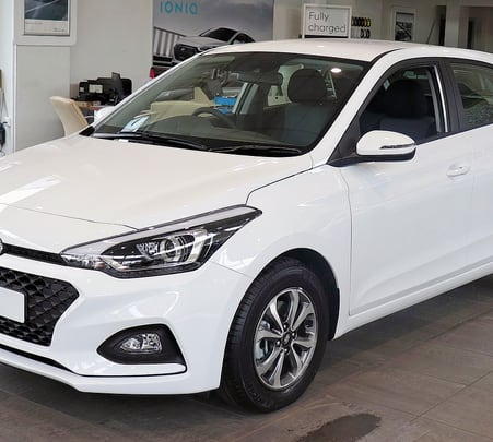 Rent a Hyundai I20 in Goa