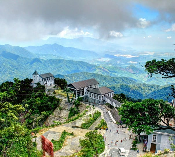 Cable Car Ride at Ba Na Hills in Vietnam