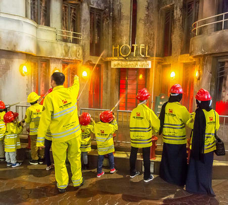 Family Day Out in Kidzania Dubai Flat 30% off