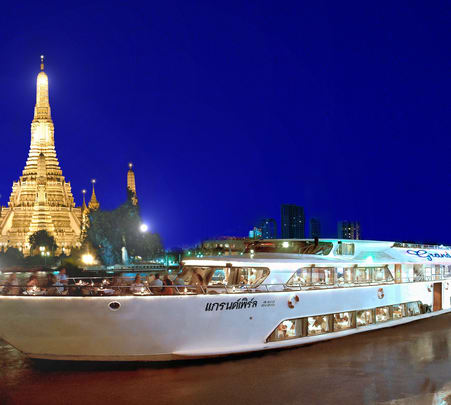 Ayutthaya Sightseeing Tour and Cruise in Bangkok