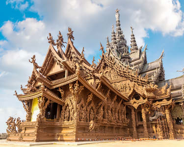 The Sanctuary of Truth Admission, Pattaya