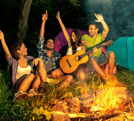 New Year Celebration with Camping and Rafting in Rishikesh