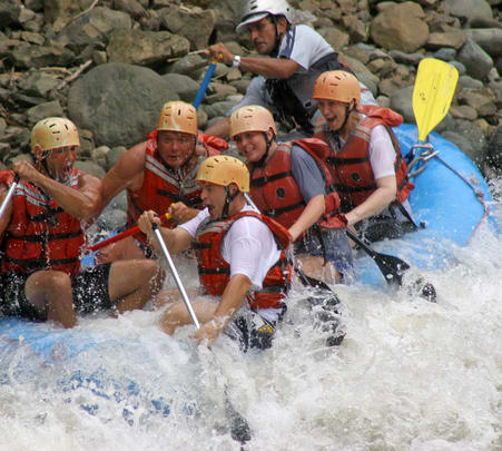 White Water River Rafting at Mandovi River in Goa
