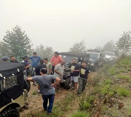 Jeep Safari To Kollukumalai