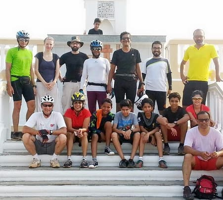Cycling Island Tour in Goa