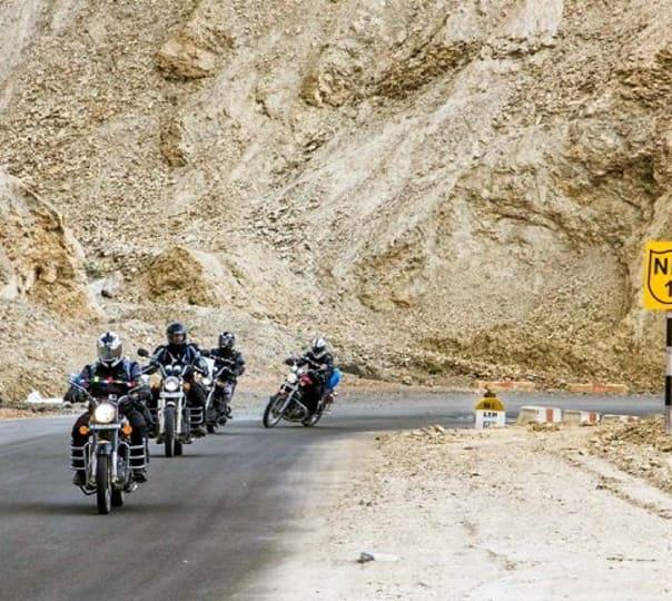 Ladakh Tour on Bike 2017