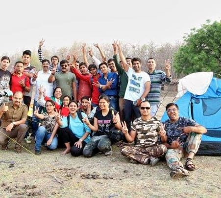 Night Camping at Taraniya, Indore